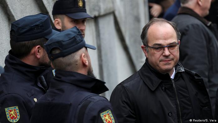 Жорди Турулл заключен под стражу