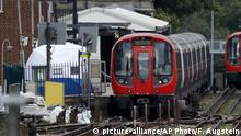 Großbritannien London - Untersuchung nach Attentat auf Londoner U-Bahn