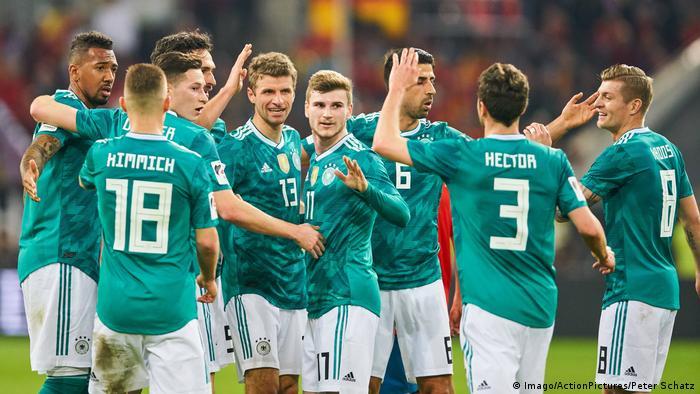 Fussball Freundschaftsspiel - Deutschland vs SpanienTor 1:1