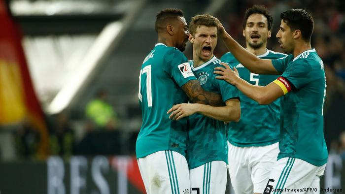 Fussball Freundschaftsspiel - Deutschland vs SpanienTor 1:1 (Getty Images/AFP/O. Andersen)
