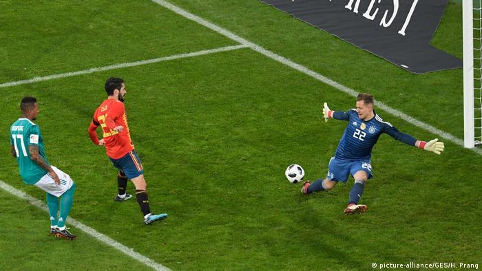 Fußball Länderspiel Deutschland - Spanien