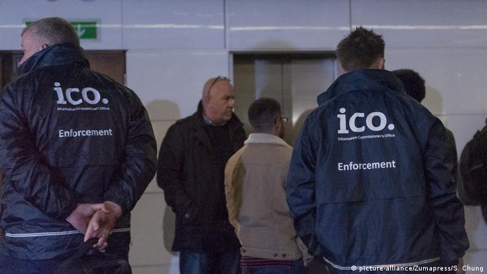London - ICO officers raid offices of Cambridge Analytica
