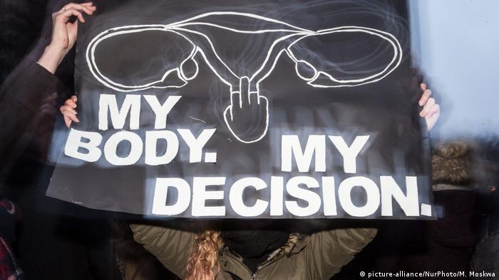 Polen Proteste gegen Abtreibungsgesetz