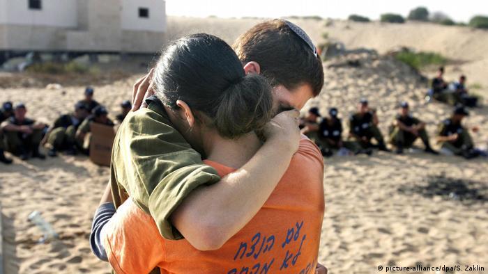 Israel Räumung Gazastreifen 2005 (picture-alliance/dpa/S. Zaklin)