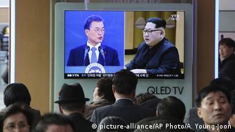 Nordkorea Südkorea innerkoreanische Gespräche Moon Jae-in und Kim Jong Un
