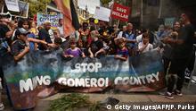 Australien Protest in Sydney gegen Bergbau