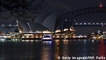 Australien Earth Hour Sydney