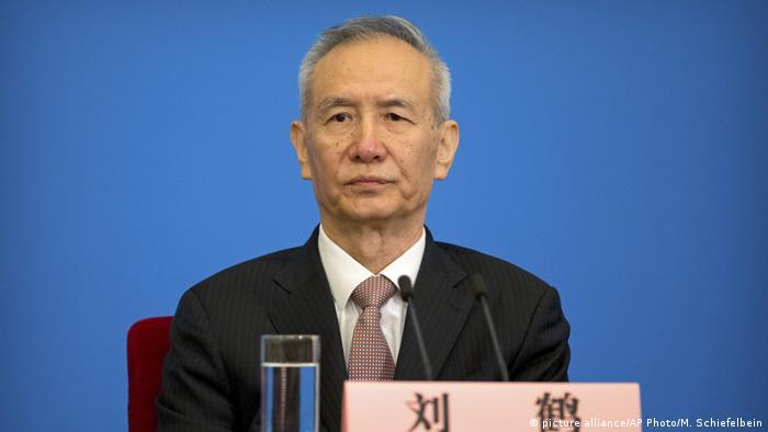 Liu He, economic czar and close aide to Chinese President Xi Jingping