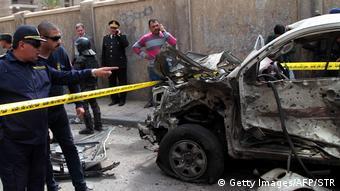 Ägypten Autobombe Anschlag in Alexandria