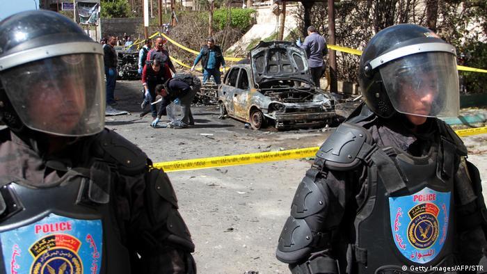 Ataque ocorreu nas proximidades do departamento de segurança de Alexandria