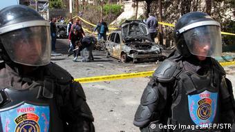 Ägypten Autobombe Anschlag in Alexandria (Getty Images/AFP/STR)