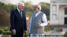 German President Frank-Walter Steinmeier meets with Indian Prime Minister Narendra Modi (picture-alliance/dpa/Bernd von Jutrczenka)