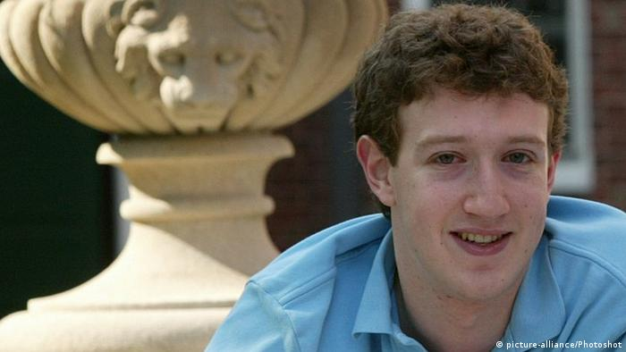 Mark Zuckerberg als Student 2004 (picture-alliance/Photoshot)