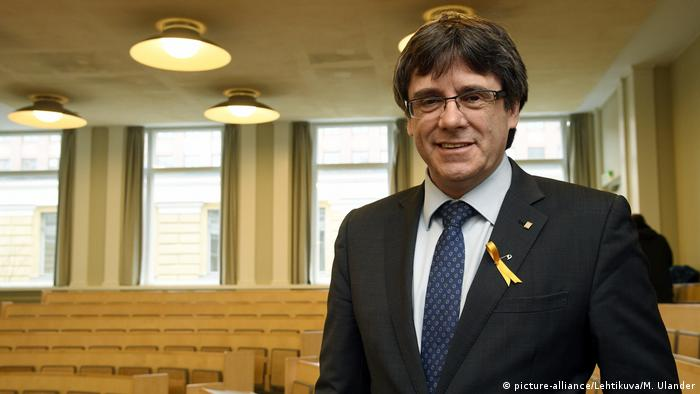Finland receives request for Catalan Puigdemont arrest
