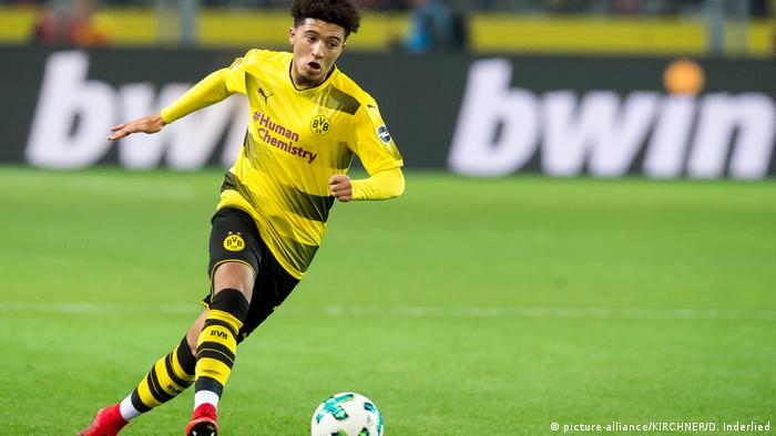 Jadon Sancho, 19, Borussia Dortmund