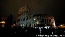 Italian Earth Hour in Rome