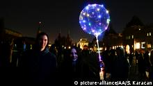 Russland Earth Hour in Moskau