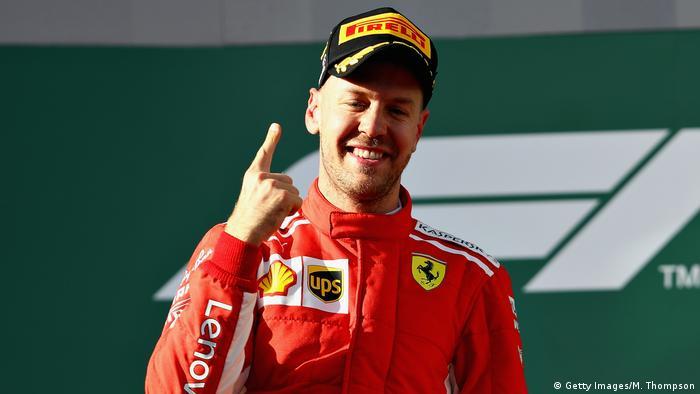 Australian F1 Grand Prix Sebastian Vettel