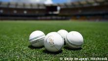BRISBANE, AUSTRALIA - JANUARY 27: Seen are cricket balls on the field before the start of the Women's Big Bash League match between the Brisbane Heat and the Sydney Thunder at The Gabba on January 27, 2018 in Brisbane, Australia. (Photo by Ian Hitchcock/Getty Images)