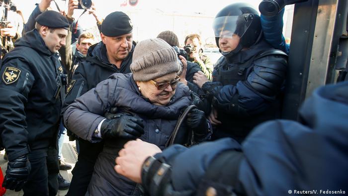 В Белоруссии задержали не менее 30 оппозиционеров