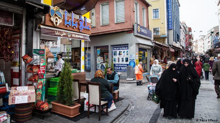 Syrisches Restaurant im Istanbuler Stadtviertel Fatih (Rena Effendi)