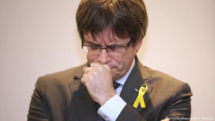 Były prezydent Katalonii Puigdemont