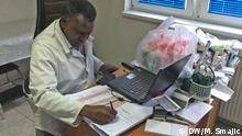 Bosnien und Herzegowina Adil Daffalla, Arzt aus dem Sudan