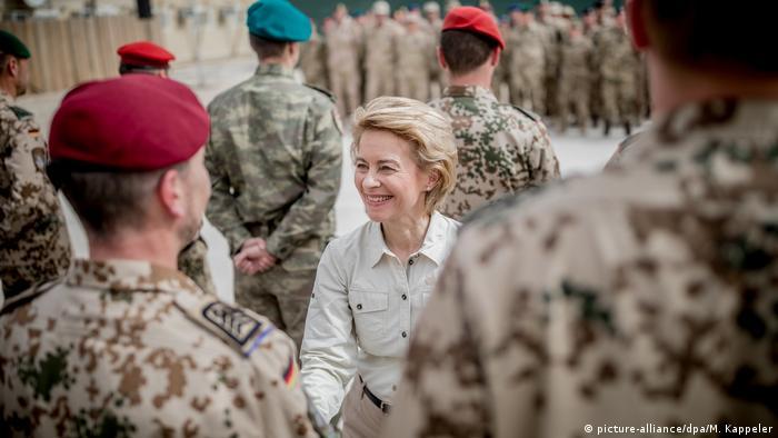 Afghanistan Verteidigungsministerin von der Leyen