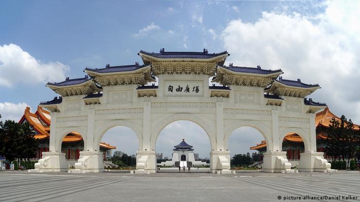 Taiwan Taipeh Haupttor zum Chiang-Kai-shek-Park
