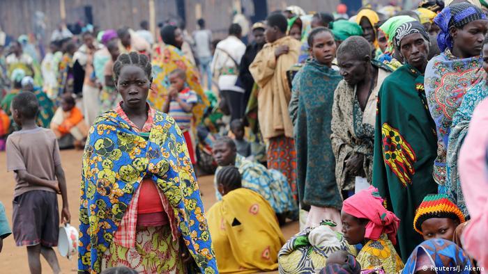 Uganda Flüchtlinge aus DR Kongo UNHCR Camp