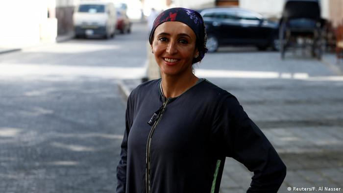 Saudi Arabien Frauentag Laufveranstaltung (Reuters/F. Al Nasser)