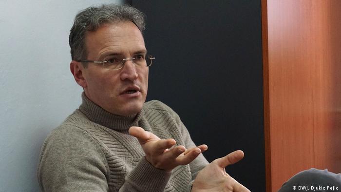 Serbien Dragan Todorovic in Nis