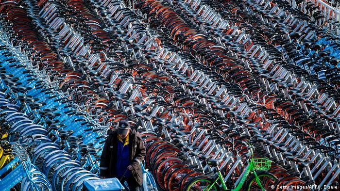 Забагато роботи - велосипедні цвинтарі в Китаї