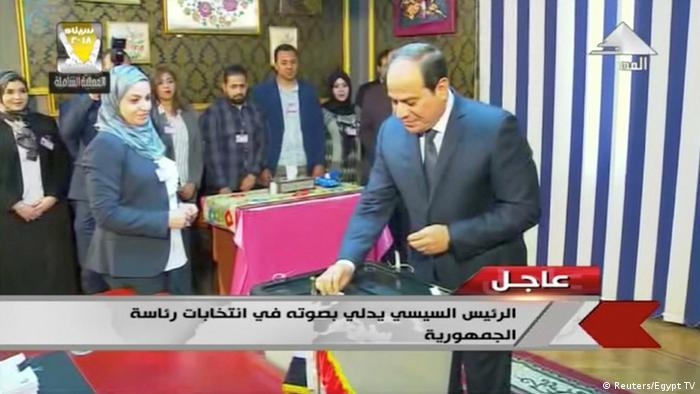 Ägypten Präsidentschaftswahlen (Reuters/Egypt TV)