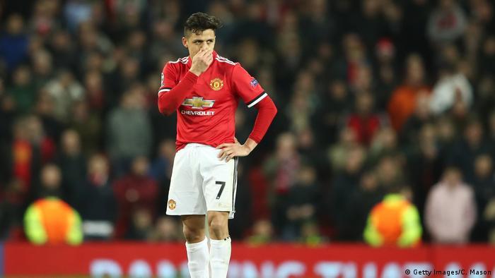 Fußball Alexis Sanchez Manchester United (Getty Images/C. Mason)