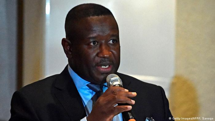Sierra Leone presidential candidate, Julius Maada Bio