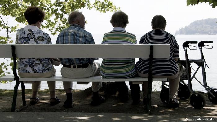 Большинство немецких домов престарелых располагаются в зеленых зонах