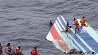 Wrackteil geborgen Air France