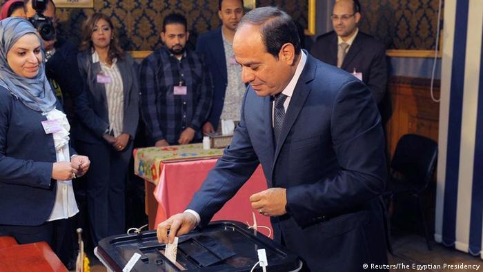 O presidente do Egito, Abdel Fattah al-Sisi
