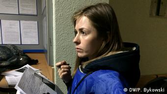 Татьяна Мастыкина в суде Советского района Минска