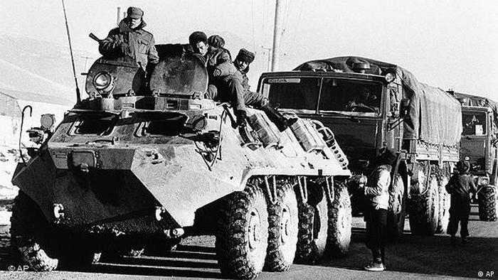 Russischer Truppenabzug aus Afghanistan