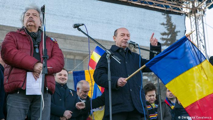 Traian Basescu in Chisinau