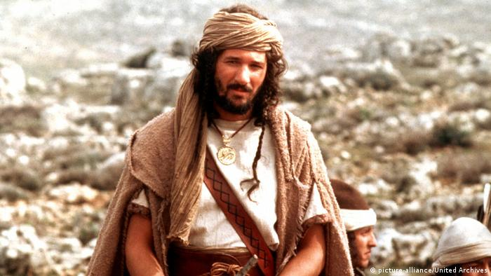 Richard Gere as King David in the eponymous 1985 film (picture-alliance/United Archives)