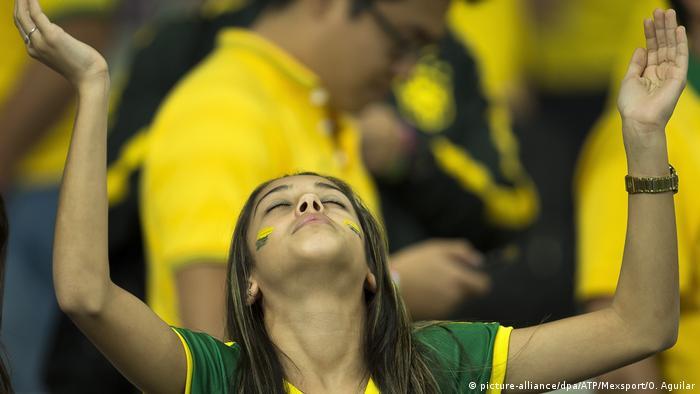 Болельщица из Бразилии