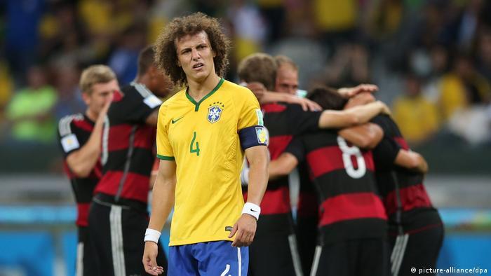 Fußball-WM 2014 Halbfinale Brasilien - Deutschland 1:7 (picture-alliance/dpa)
