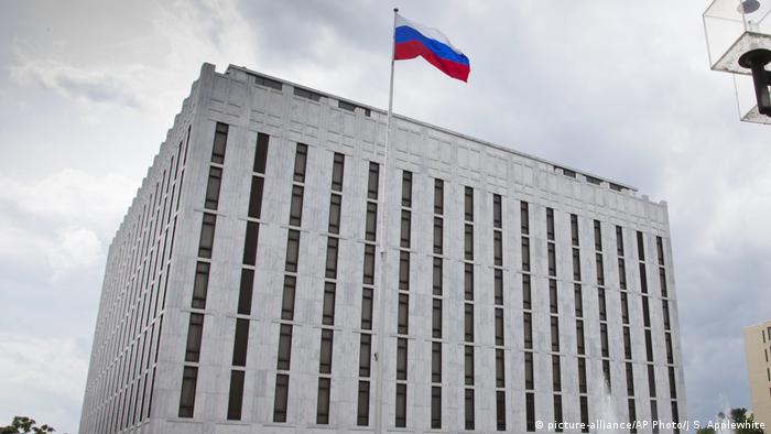 USA Washington Russische Botschaft (picture-alliance/AP Photo/J.S. Applewhite)