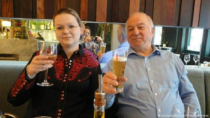Сергей Скрипаль и его дочь Юлия незадолго до отравления