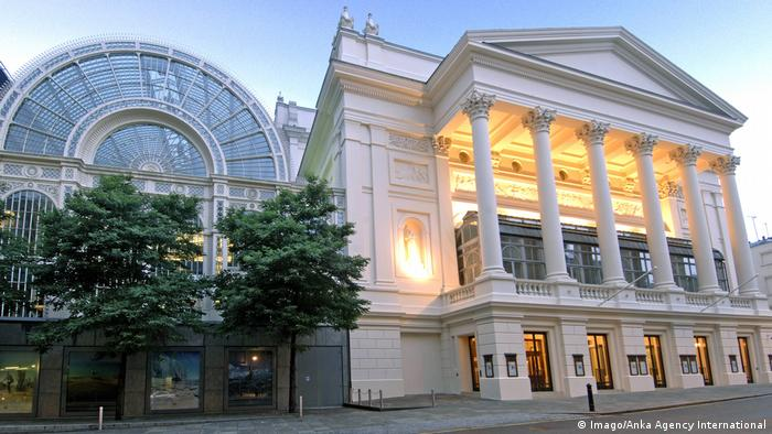 Street view of the Royal Opera House in London (Imago/Anka Agency International)