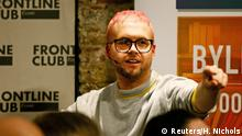 Whistleblower Christopher Wylie Ex-Mitarbeiter Cambridge Analytica (Reuters/H. Nichols)