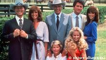 US TV Serie Dallas Hauptdarsteller
